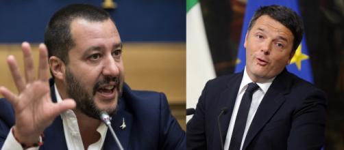 """Renzi dà del bullo a Salvini. Il ministro: """"Italiani ti hanno ... - ilgiornale.it"""