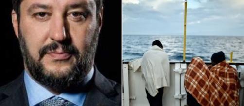 Scontro tra Matteo Salvini e la Ong Mediterranea