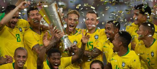 Seleção Brasileira enfrenta o Peru pela final da Copa América 2019. (Arquivo Blasting News)