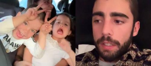Surfista explicou que filho é fã de música brasileira. (Reprodução/Instagram/@pedroscooby)