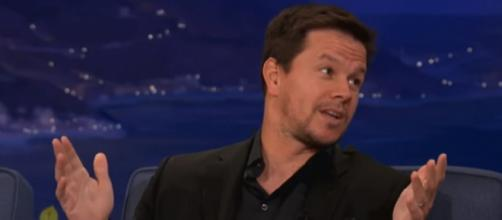 Actor Mark Wahlberg is an avid Patriots fan (Image Credit: Team Coco/YouTube)