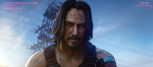 'Cyberpunk 2077', jogo que usa a imagem de Keanu Reeves, pode virar filme. (Arquivo Blastingnews)