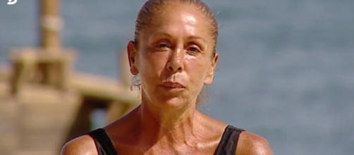 Isabel Pantoja, en la isla de 'Supervivientes'. / Telecinco