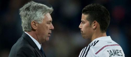 James didn't fit the Zidane puzzle, but Ancelotti reunion will be ... - stadiumastro.com