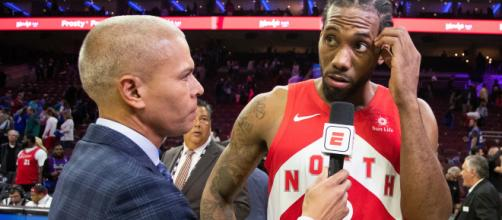 Leonard Kawhi leaves Raptors to sign with Los Angeles Clippers - Image via BN library