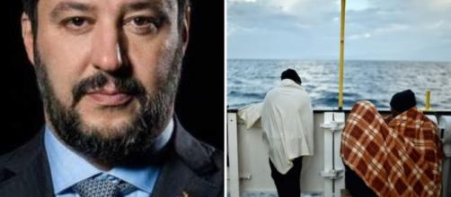 Situazione di stallo fra la ONG Mediterranea e Matteo Salvini - blastingnews.com