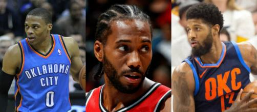 The Raptors were in a bidding war for a Big 3 of Russell Westbrook, Kawhi Leonard and Paul George. [Image source:Flickr+image editor]