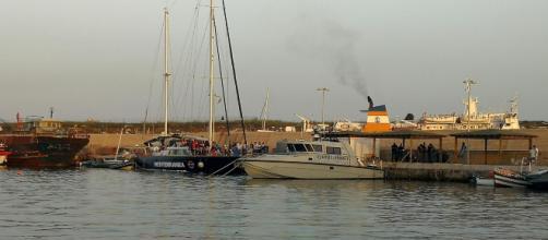 Alex di Mediterrane attracca al Molo Favaloro