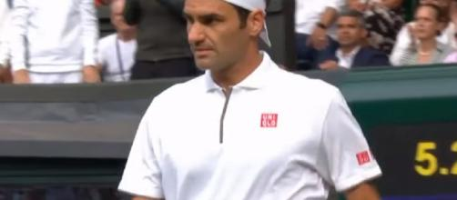 Roger Federer seeks to capture a ninth Wimbledon title. Photo Credit - screencap via beIN SPORTS France/ YouTube