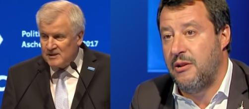 Seehofer, ministro dell'Interno tedesco ha scritto a Matteo Salvini.