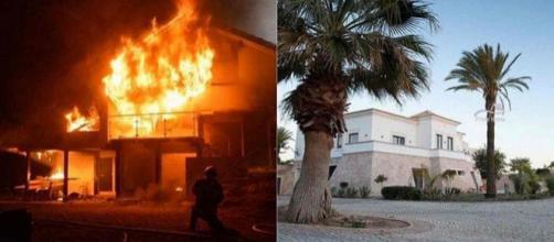 Un incendie s'est déclaré à Faro au Portugal, dans la villa des Marseillais vs Le Reste du Monde 4.