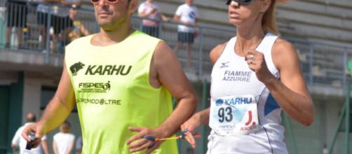 L'atleta e cantante Annalisa Minetti