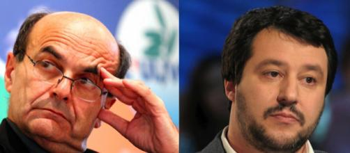 Matteo Salvini attacca Bersani sullo ius soli