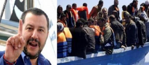 Matteo Salvini denuncia presunte telefonate tra scafisti e Ong