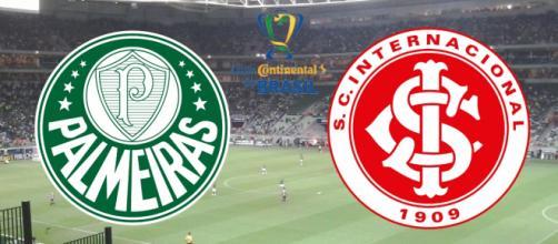 Palmeiras x Internacional: onde assistir, horário e escalações. (Fotomontagem)