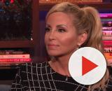 Camille Grammer is seen on 'Watch What Happens Live.' [Photo via Bravo TV/YouTube]
