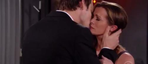 Adam wants Chelsea back but she turns to Nick. [Image Source: Y&R Worldwide/YouTube]