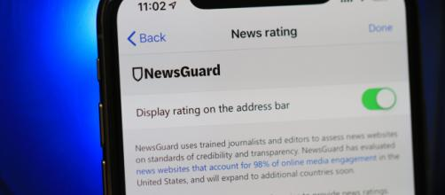 Blasting News was awarded top marks by NewsGuard