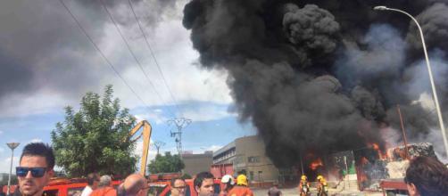 Desalojan el Oceanogràfic de Valencia por un incendio