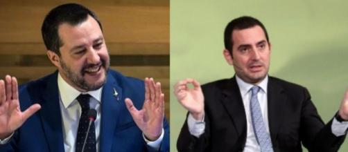 Scontro tra Matteo Salvini e Vincenzo Spadafora su Carola Rackete