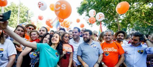 Un senador de Ciudadanos comparar su partido en el Orgullo de Madrid con Rosa Parks
