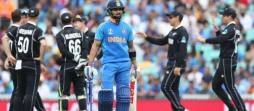 World Cup 2019, Semi-final 1: India vs New Zealand Match (Image via Star Sports)