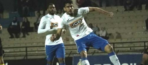 Zé Roberto abriu o placar para o São Bento. (Reprodução/Facebook/Esporte Clube São Bento)