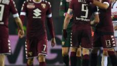 Fine della partita Debrecen-Torino 1-4, Gol di Zaza, Izzo, Belotti e il giovane Millico