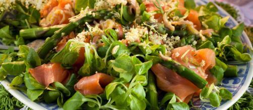 Ensaladas originales y ricas en proteína -