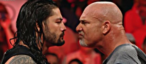 Goldberg and Roman Reigns' opponent at Summerslam revealed. Image Credit: WWE/YouTube