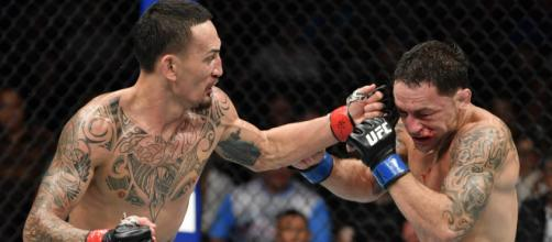 Max Holloway vence a Frankie Edgar por decisión unánime en UFC 240. - bleacherreport.com