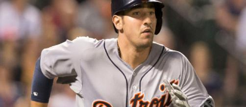 Nick Castellanos is the newest Chicago Cub outfielder. [Image via Keith Allison/Flickr]