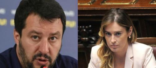 Russiagate: Maria Elena Boschi attacca Matteo Salvini