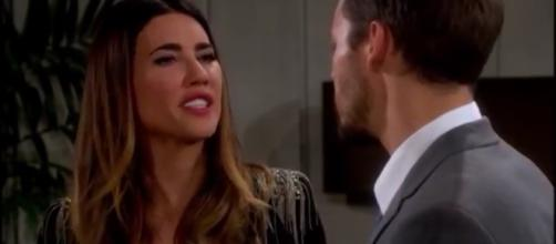 Steffy heartbroken because Phoebe is Beth.(Image Source:Steffy Forrester-YouTube.)