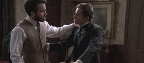Una vita, puntata serale del 3 agosto: Diego vuole rintracciare Jamie