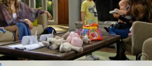 Baby switch reveal causes heartbreak on B&B.(Image Source:CBS-YouTube.)