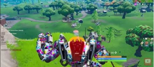 Fortnite players want the BRUTE to be vaulted. [Image source: thatdenverguy/YouTube]