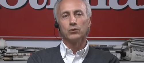 Marco Travaglio pensa ad un governo senza ministri leghisti.