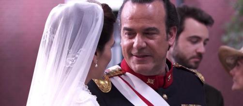 Una Vita, anticipazioni: il colonnello Valverde muore