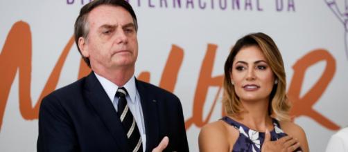 Avó de Michelle Bolsonaro teria fraturado o fêmur. (Carolina Antunes/Presidência da República)