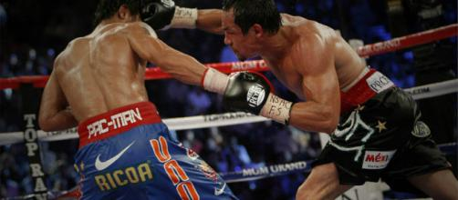 Manny Pacquiao and Juan Manuel Marquez had four epic matches in their career – image credit: Coachran96/Flicker
