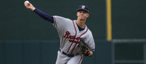 Mike Soroka has been Atlanta's best starter this season. [Image Source: Flickr | Andy Grosh]