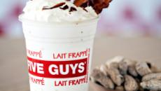 'Five Guys' crea un batido de plátano con bacon