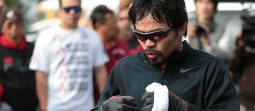 Manny Pacquiao keeps on getting challenges from different fighters - image credit:The DailyHerald/Flickr