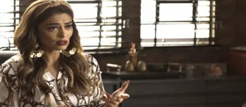 Maria da Paz armará para enganar Josiane. (Reprodução/ TV Globo)