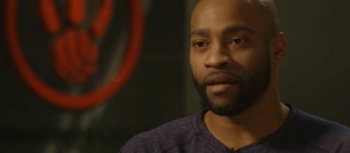 Vince Carter played six-and-half seasons with the Toronto Raptors. [Image Source: Raptors/YouTube]