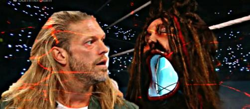 "WWE SummerSlam results: Edge returns and ""The Fiend"" Bray Wyatt makes a scary entrance. [Image Courtesy: Youtube/WWE]"