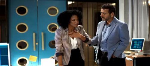 Gilda deixará a trama em cenas emocionantes. (Reprodução/ TV Globo)