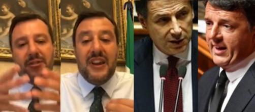 Matteo Salvini commenta il possibile inciucio tra Pd e M5S. Blasting News
