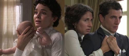 Una Vita, anticipazioni al 24 agosto: Blanca ritrova Moises, incidente d'auto per Antonito